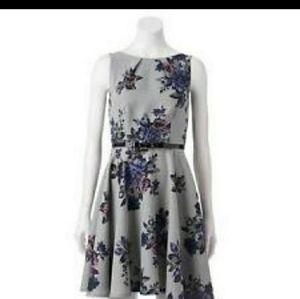 Elle  knee length dress